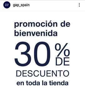 30% de descuento en todo GAP Barcelona