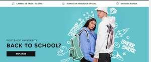 20% cupón promocional FootShop al comprar al menos 2 productos en Back to school