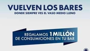 1.000.000 de consumiciones gratis