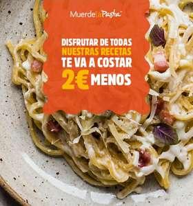 OFERTA AMPLIADA - 2€ de descuento en Muerde La Pasta
