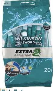 Bolsa 20 maquinillas Wilkinson Sword Extra 2 Sensitive