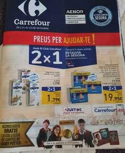 Vuelve el 2X1 en Carrefour