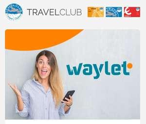500 puntos en Travel Club con Waylet