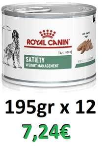 Royal Canin Satiety - 12 latas de 195 gr (TSS)