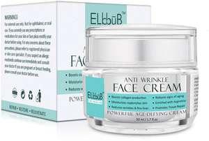 Crema facial hidratante rejuvenecedora natural Elbbub