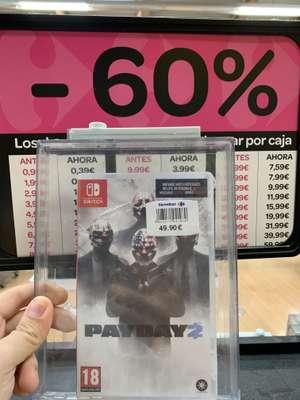 PayDay 2 Switch (Carrefour Murcia)