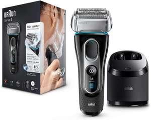 Máquina de afeitar Braun Series 5 5197 con base de limpieza Clean&Charge (húmedo y seco)