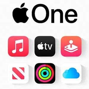 Apple One :: 1 mes gratis - Apple TV + Apple Music + Apple Arcade + iCloud (Nuevos Usuarios)