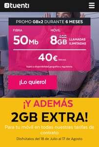 Promo 2GB de verano 2018 para clientes de Contrato