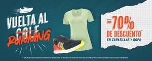 Vuelta al cole con 70% de descuento en i-Run en running en ropa y zapatillas.
