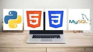 Curso 16h de Python sin fronteras: HTML, CSS, Flask y MySQL [Udemy, en Español]