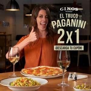 Cenas 2x1 en Ginos
