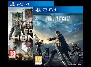 Pack juegos PS4: For Honor + Final Fantasy XV