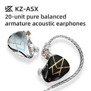 Nuevos Auriculares KZ ASX - 20 altavoces BA