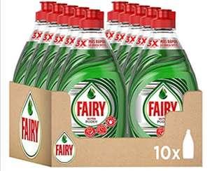 Fairy Ultra Poder Líquido Lavavajillas 10 x 450 ml