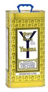 Ybarra aceite de oliva suave lata 5 lt en híperdino