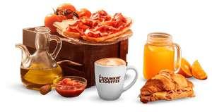 2x1 en cafe de Dunkin Donuts