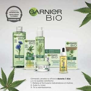 Reembolso Productos Garnier Bio