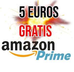 5 Euros GRATIS clientes Amazon Prime