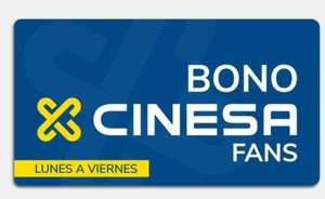 Bonos Cinesa desde 3,90€ la entrada.