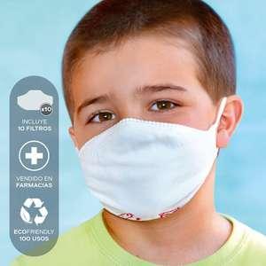 Mascarilla para niño. máxima comodidad. reutilizable.