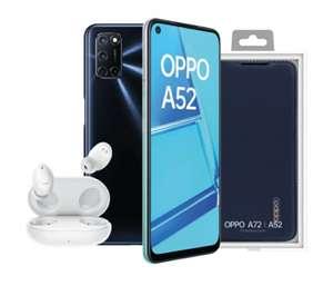 Oppo A52 + auriculares Enco W11 + funda