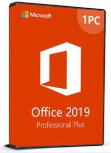 Microsoft Office 2019 Professional Plus Cd Key Phone Activation (Solo valido para una instalación)