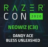 RazerCon 2020: Dandy Ace y Bless Unleashed (Closed Beta) (GRATIS)