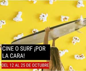 Cine o Surf por la cara en X-Madrid