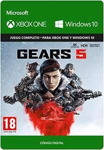 [Prime Days] Gears of War 5 Standard Edición - PC o Xbox One, Cod digital