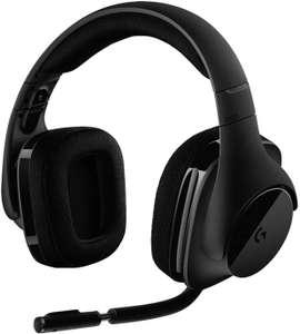 Logitech G533, 7.1 Surround DTS Headphone:X, Transductores 40mm Pro-G, Micrófono, 2, 4 GHz Inalámbrico, Batería de 15 Horas, PC/Mac, Negro