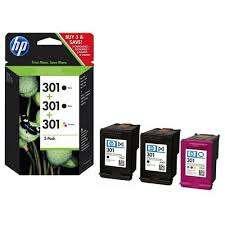 HP 301 (E5Y87EE) Multipack 2 negro + 1 color
