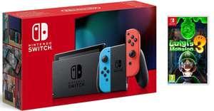 Nintendo Switch + Luigi's Mansion 3