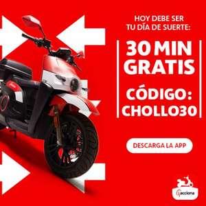 30 minutos gratis Acciona MotoSharing (NUEVAS ALTAS)