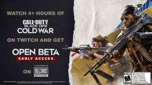 Códigos beta de call of duty: black ops cold war [DROPS DE TWITCH]