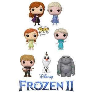 Todos los Funko Pop de Frozen II a 5€ en cualquier Primark de España