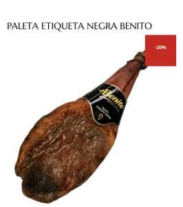Paleta de Jabugo etiqueta negra Benito