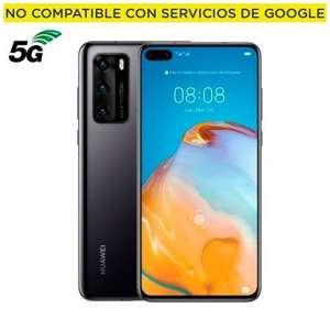 Huawei P40 5G 8/128GB Negro Libre - 2 Años de Garantía.