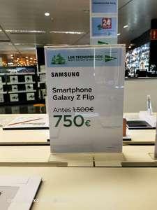 Samsung galaxy z Flip ECI plaza Catalunya