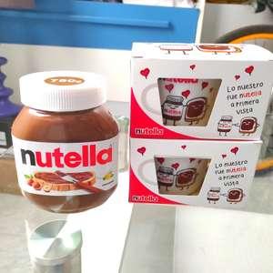 Dos tazas gratis por la compra de Nutella en Carrefour Dos Hermanas