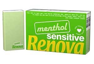 RENOVA Pañuelos De Bolsillo Sensitive Mentol - 6 Paquetes Perfume Mentolado