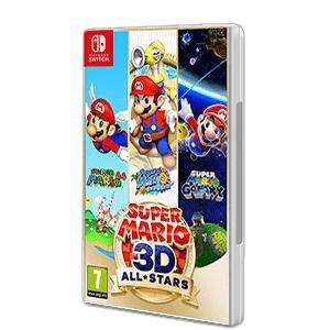 Nintendo Switch Super Mario 3D All Stars (Recogida En Tienda)