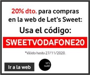 """20% descuento en la tienda """"Lets sweet"""""""