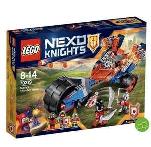 Lego Nexo knights ariete demoledor de macy 70319