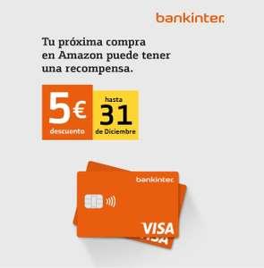 5€ regalo Amazon al pagar con Visa Bankinter