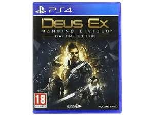 Juego PS4 - Deus Ex Mankind Divided - Solo 3.80€ con envío gratuito!