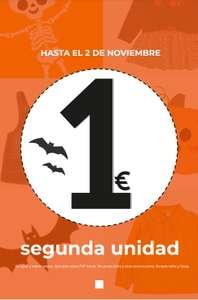 Segunda prenda a 1€