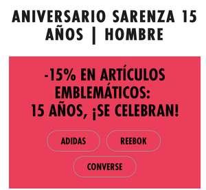 -15% en artículos de Sarenza