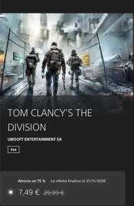 "JUEGAZO ""TOM CLANCY'S THE DIVISION"" (PS4)"