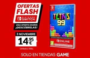 Oferta flash Game Tetris 99